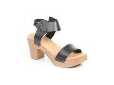 Sandal-Sara in black