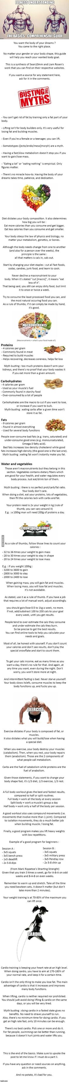 Basics of working out. - 9GAG