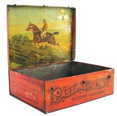 Pastime Plug Tobacco tin box