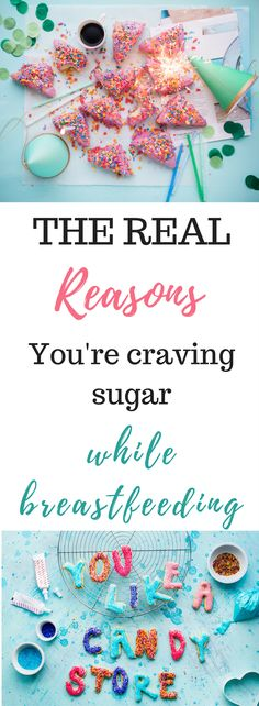 Breastfeeding and craving sugar are connected for some hidden reasons you might not expect. Here are the real reasons your craving sugar, and what to do about it!