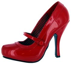 Pleaser Women's Cutiepie-02/R Mary Jane Pump.  I hate wearing heels but these are amazing.