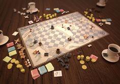 Arabibusta (Boardgame Concept Design, 2009) on Behance