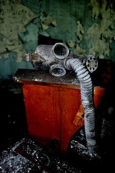 Chernobyl gas mask #urbex