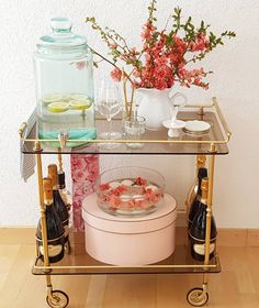 Bar Cart Styling, Instagram Life, Branches, Bloom, Lifestyle, Simple, Healthy, How To Make, Home Decor