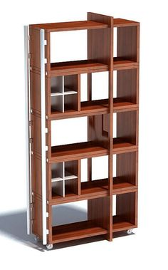 Storage Shelves, Shelving, 3d Projects, 3d Printing, Bookcase, Scene, Chocolate, Simple, Furniture