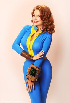 Amazing Cosplay, Best Cosplay, Cosplay Fallout, Vault Dweller, Pin Up Style, Cosplay Girls, Anime Cosplay, Trends, Up Styles