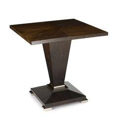 DAVIDSON London - The Monza Table in Dark Tinted Walnut