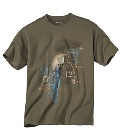 Tee-Shirt Impression Corse #atlasformen #western #cowboy #discount #collection #shopping