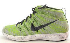 Nike Lunar Flyknit Chukka Wolf Grey Green 554969 011 Supreme Racer Size 10 #Nike #FashionSneakers