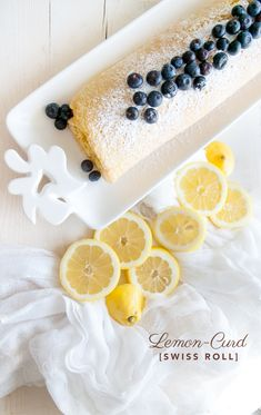 Lemon curd swiss roll. The citrus game is on point with this recipe. Delicious summer flavours at maximum intensity!