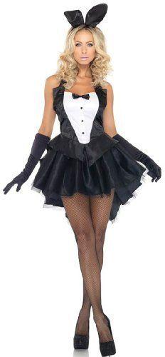 Leg Avenue 3-Piece Tux And Tails Bunny Tuxedo Costume...