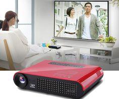 4k DLP Mini Portable Home Theater Projector | CoolShitiBuy.com