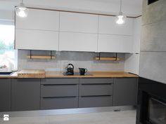 Kitchen Room Design, Home Room Design, Ikea Kitchen, Home Decor Kitchen, Interior Design Kitchen, Voxtorp Ikea, Kitchen Colour Combination, Contemporary Kitchen Design, Grey Kitchens