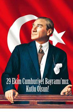 """""""Ey yükselen yeni nesil! Gelecek sizsiniz. Cumhuriyeti biz kurduk, O'nu yükseltecek ve yaşatacak sizsiniz."""" Türkiye Cumhuriyeti'nin Kurucusu Ulu Önder Mustafa Kemal Atatürk."""