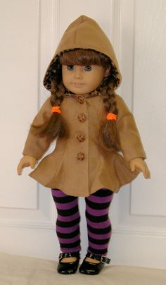 Carla Coat PDF pattern for 18 Doll by Genniewren on Etsy, $5.00