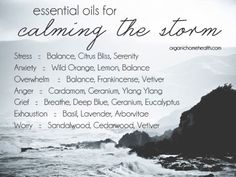 My Favorite Oils for Stressful Emotions and Situations, click for more info...