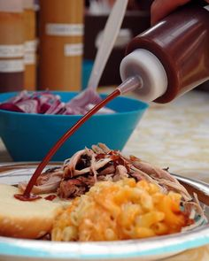 This traditional pulled pork finishing sauce is a wonderful accompaniment to Carolina-style pulled pork. Served on the side, use as much as you'd like.