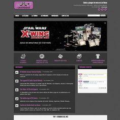 Diseño web para una tienda de cómics