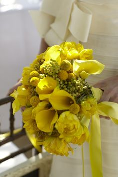 A bright bouquet for the modern bride.