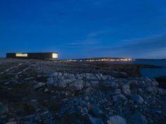 Fogo Island Studio 24 Impressive Architectural Studio Overwhelms the Astonishing Landscape