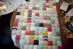 Muffins + Marathons: My quilt for Baby Girl
