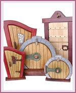 Fairy Doors at efairies.com. All things fairies indeed are to be found here. Happy dance time.
