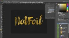 How to Create a Gold Foil Effect in Photoshop - In addition, this Tutorial shows how to create a gold foil background from scratch using Photoshop tools. Via Dustin Lee of RetroSupply. http://www.retrosupply.co/