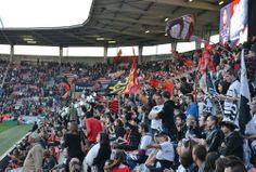 Match de rugby au Stade Ernest Wallon © Karine Lhémon #visiteztoulouse #toulouse #rugby