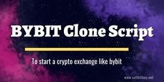 Bybit Clone Script to start a cryptocurrency exchange website like bybit. Sellbitbuy provides the bybit clone script to start exchanges like bybit with customizing features like white label solutions,multi-sign wallets, etc. Get the free demo now. Revenue Model, Order Book, Market Price, Cryptocurrency Trading, Script, Signs, Partner, Wallets, Garage