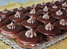 Christmas Sweets, Christmas Baking, Baking Recipes, Cookie Recipes, Czech Recipes, Sweet Cakes, Desert Recipes, Confectionery, Diy Food