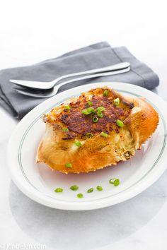 Rellenong Alimasag, Filipino-style Stuffed Crabs {recipe}
