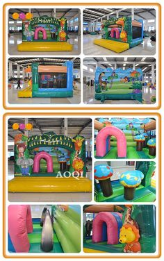 Jungle fun city game makes you enjoy jumping happily.This inflatable game is suitable for indoor and outdoor. Inflatable Bouncers, How To Start Running, Special Events, Indoor, Make It Yourself, Games, City, Fun, Interior