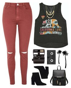 """Want to go somewhere? "" by genesis129 ❤ liked on Polyvore featuring Glamorous, Billabong, Stuart Weitzman, Forever 21, Polaroid, Dot & Bo and Luckies"