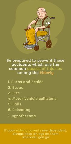 Be prepared to prevent these accidents which are the common causes of injuries among the Elderly. Visit www.shabahealth.com to learn more. #Homecare #seniorcare