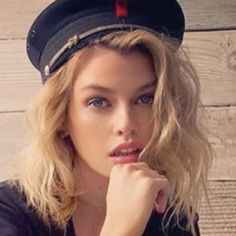 Stella Maxwell, Hair Images, Captain Hat, Celebrity Style, Beautiful Women, Celebs, Sexy, Fashion, Beautiful Celebrities