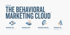 BounceX | Behavioral Marketing Cloud | Bounce Exchange Advertising, Ads, Things That Bounce, Behavior, Clouds, Tools, Marketing, Digital, Behance