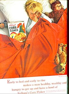 1963 Corn Flakes ad