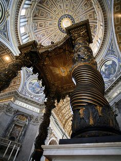St. Peter's in Rome: the Pope's home church is kind of a big deal. I want to go here so badly! My poor husband has to hear about it every time we talk about taking a trip.