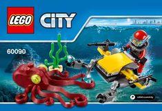 LEGO instructions Deep Sea Scuba Scooter set number 60090