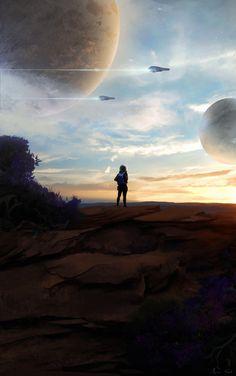 """ART: """"Uncharted Planets"""" by Arjen Sol"""