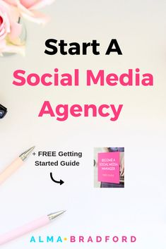 How to Start a Social Media Management Agency – Paid Social Media Jobs Business Goals, Business Tips, Online Business, Business Quotes, Social Media Marketing Agency, Business Marketing, Marketing Strategies, Email Marketing, Digital Marketing