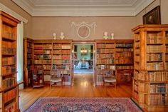 English Country Style House Interiors | English Country House Libraries (page 3)