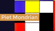 El pintor holandés Piet Mondrian para niños