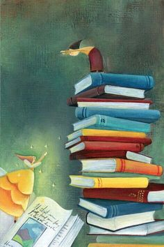 Book, Art by Marie Cardouat Marie Cardouat, Illustrations, Illustration Art, World Of Books, I Love Books, Photomontage, Love Art, Book Worms, Book Lovers