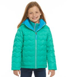 SAM. 'Freestyle' Quilted Down Jacket (Toddler Girls & Little Girls ...