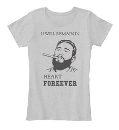 I live this. Do you?  https://teespring.com/in-heart-forever?tsmac=store&tsmic=trending-t-shirt-collection#pid=370&cid=6545&sid=front #fidelcastroinvencible