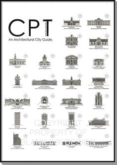 Blank Ink Design | Architectural City Guide | Art & Architecture | CPT, An Architectural City Guide