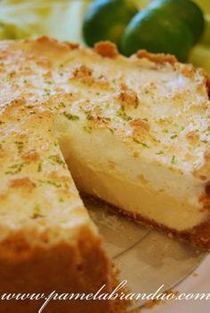 Torta de limão e merengue Mais