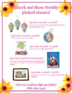 Freshly Picked Classes!