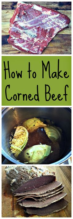 Homemade corned beef is delicious, and the main ingredient in Reuben sandwiches!